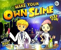 Play The Imagination Slime Kit Make Your Own Creative Kids DIY Toys Game Gift