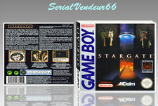"BOITIER du jeu ""STARGATE"", GAME BOY. Nintendo. PAL FR. HD. SANS LE JEU."