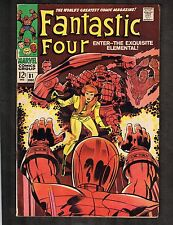 Fantastic Four #81 ~ Crystal Joins/ Dons Costume ~ 1968 (4.0) WH