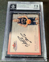 2000-01 Fleer Autographics KEITH VAN HORN BGS 7.5 NM+ Nets Auto Hard To Grade