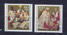 ALEMANIA/RFA WEST GERMANY 1992 MNH SC.B739/B740 Christmas
