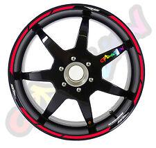 Strisce adesive per cerchi moto APRILIA RS 125 50 250 strip sticker tuning