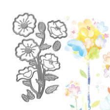 Remembrance Flower Metal Cutting Dies Stencil Scrapbooking Card Paper DIY Crafts