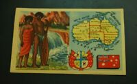 Vintage Cigarettes Card. AUSTRALIA. REGIONS OF THE WORLD COLLECTION