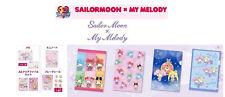 LOT STICKER NOTEBOOK FILE A4 A5 SANRIO MY MELODY SAILOR MOON SEVEN ELEVEN 7/11
