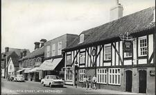 Attleborough, Norfolk - Church Street, old cars (inc VW Beetle) - local pmk 1971
