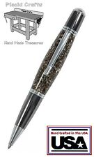 Handmade Grande Ballpoint Pen with a Solid Surface Body & Fisher Ink / #07