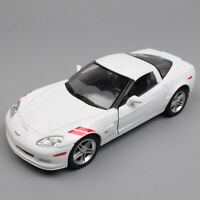 Kids 1/24 Scale Chevrolet Corvette Z06 Stingray sport car 2007 diecast model toy