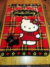 Hello Kitty Plush Supersoft Blanket 39.5 X 55.25