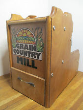 Grain Country Mill 1/2HP Stone Grind Wheat & Grain Grinder Flour Mill
