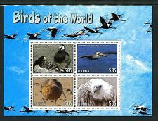 Liberia 2868-71, MNH Bird: Barnacle Goose,Brown Pelican,Crane, 2013. x19734