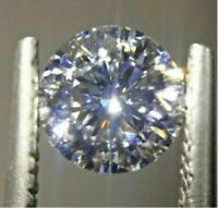 Brilliant Natural 5mm White Diamond G-Color Round Cut VVS Clarity Excellent