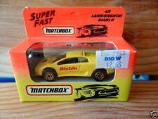 Matchbox Superfast Lamborghini Diecast Cars, Trucks & Vans