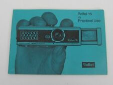 Rollei Vintage Camera Manuals & Guides