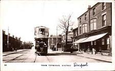 Aintree. Tram Terminus # 50 in Dale Series. Liverpool Co-Op Shop & L.Ellis Shop.