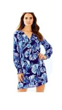 """LILLY PULITZER  Brynle Dress   """"IN REEL LIFE""""   Size LARGE  NWT  $198"""