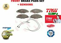 FOR CITROEN XANTIA + XM 1994-2004 NEW FRONT BRAKE PADS SET + PAD SENSOR 4251 45