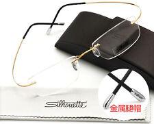 7799 Silhouette Ultra-Light β Titanium Eyeglasses Frame Rimless Glasses Frame!