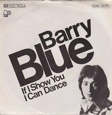 "7"" Barry Blue If I Show You I Can Dance / Rosetta Stone 1975 EMI BELL"