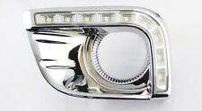 2x LED Daytime DRL Running Fog Light For Toyota Land Cruiser Prado FJ150 2011-13