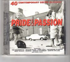 (HP794) Pride & Passion, 40 Contemporary Celtic Classics - 1996 double CD