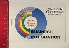 Aufkleber/Sticker: Andersen Consulting - Business Integration (230316122)