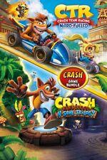 CRASH N SANE TRILOGY + CRASH TEAM RACING Xbox One (Leggi Descrizione)
