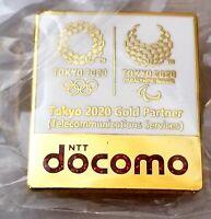 2020 Tokyo Olympic NTT DOCOMO MEDIA pin