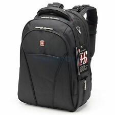 "Men Women 17"" Laptop Waterproof Business Notebook Backpack School Camping Bag"