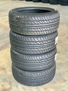 4 NEW 225/45R18 Ohtsu FP7000 Performance Touring Tires 91W 440A A Made by Falken