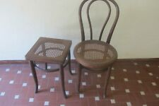Sedia e sgabello Thonet antiquariato