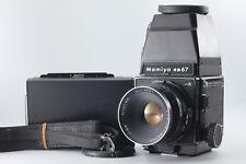 【Exc+++++】Mamiya RB67 Pro S w/CDS Finder 127mm F/3.8 Polaroid Back Japan  #0042
