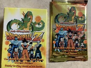 Ani-Mayhem Dragon Ball Z Starter Deck And Booster Pack Sealed DBZ Set 2