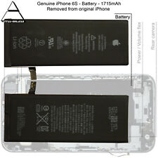 "Apple iPhone 6S 4.7"" 1715mAh 3.82V Li-ion Genuine Original Replacement Battery"