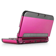 Aluminium Protective Hard Shell Skin Case Cover for New Nintendo 3DS 2015 Pink