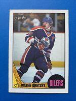 Wayne Gretzky 1987-88 #53 O-Pee-Chee OPC Hockey Card Edmonton Oilers