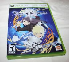 Xbox 360 Tales of Vesperia, Complete in Box, VGUC, Free Shipping!