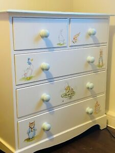 large chest of drawers used