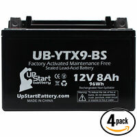 10Ah Replacement 1994 Suzuki GSX-R1100 W 1100 CC Factory Activated 12V UB-YTX12-BS Maintenance Free Motorcycle Battery