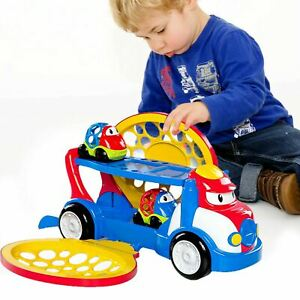 Kids Large Truck Toy Car Carrier With Cars Friction Powered Vehicle Baby Toy