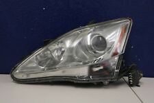 2006 2007 2008 LEXUS IS250 IS350 LEFT HEADLIGHT XENON WITH CHROME BEZEL