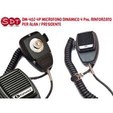 DM-402-4P Microphone Dynamic 4 Pin, Reinforced for Alan/ President
