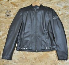 Harley Davidson Women's Leather Jacket S Small RN 103819