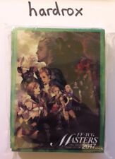 Final Fantasy XII Sleeves enveloppes FF-TCG Masters 2017 2nd Season Only from Japon!