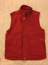 giubotto smanicato tipo  woolrich colore rosso tg s