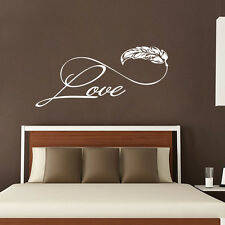 Love Wall Decals Family Sticker Boho Infinity Sign Bedroom Living Room Decal FD7