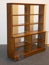 Dollhouse Miniature Large Shelf Walnut Store Shop 1:12 scale Y0 Dollys Gallery