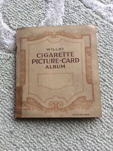 Will's Cigarette Picture Card Album. Railway Equipment. Complete set 50 cards.