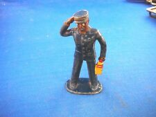 Post War Lionel Train Painted Lead Black Conductor