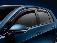 2015-2017 VW Volkswagen 4 DOOR Golf GTI MK7 REAR Side Window Deflectors OEM